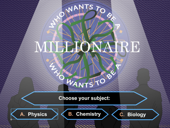 download free who wants to be a millionaire game template