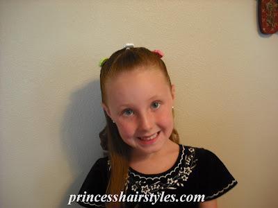 flower girl hairdo