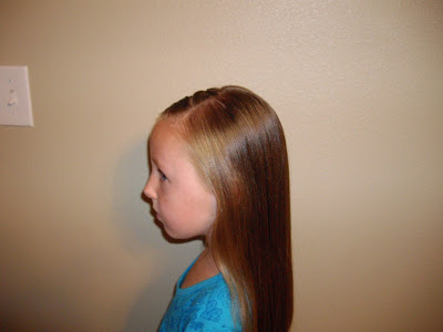hair for school pictures