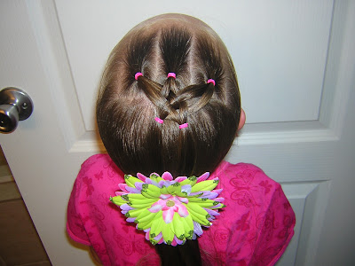 Mini Woven Star Hairstyle Hairstyles For Girls Princess Hairstyles