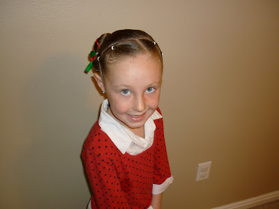 little girls christmas hairstyle