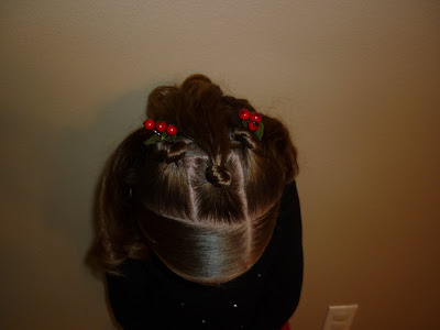 holiday hairstyle