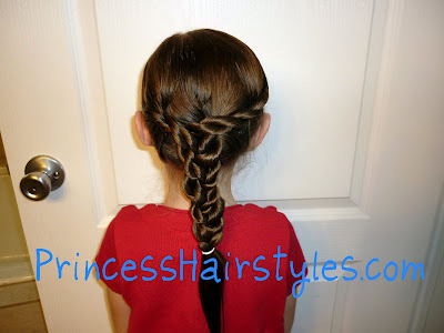 twist braid hairstyle