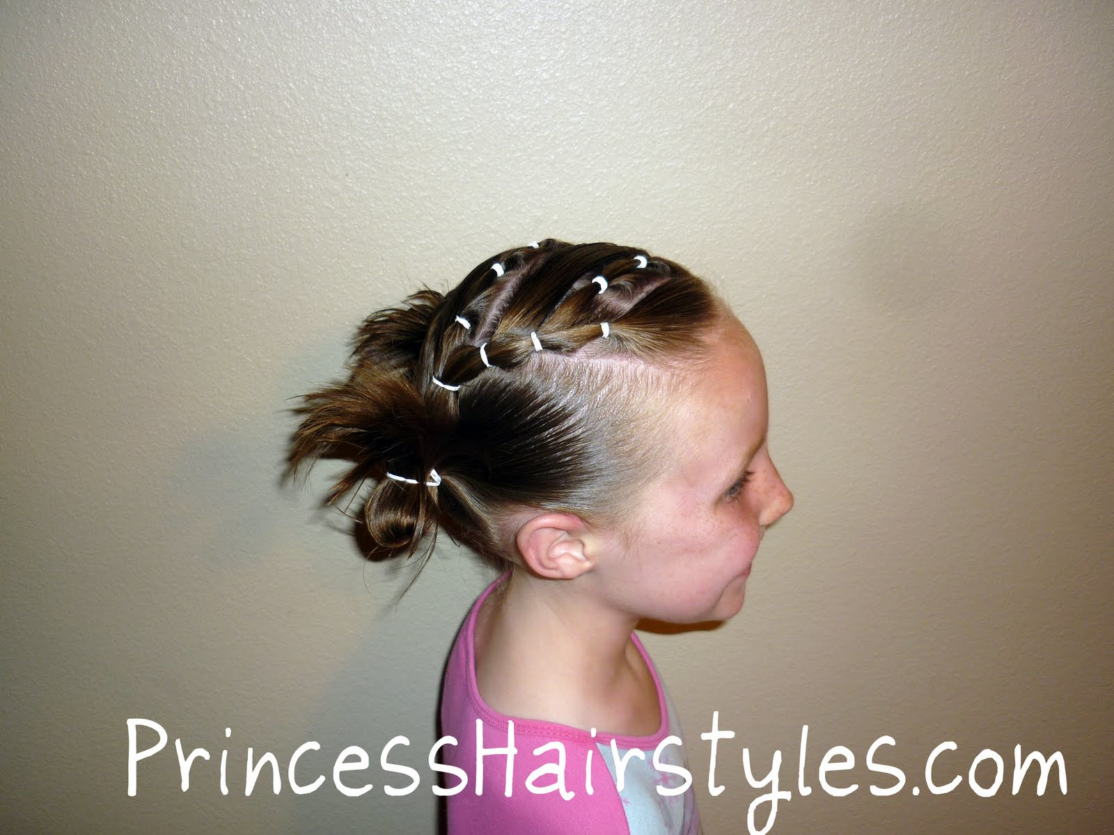 hairstyles for heart shaped face : Chutes and Ladders Hairdo Hairstyles For Girls - Princess Hairstyles