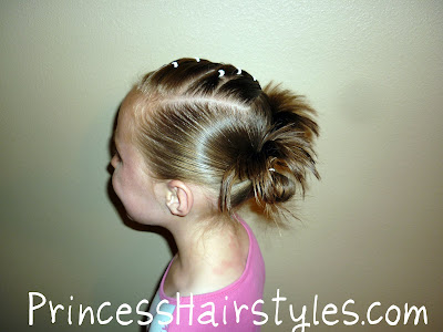 Hairstyles For Gymnastics