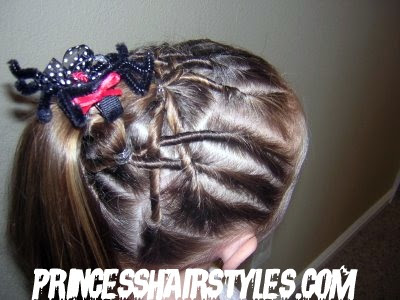 Halloween Hairstyles - The Spider Web Hairstyles For Girls ...