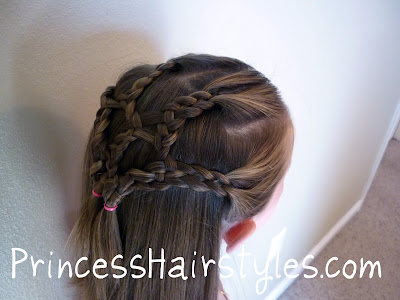 4 strand braid hairstyle