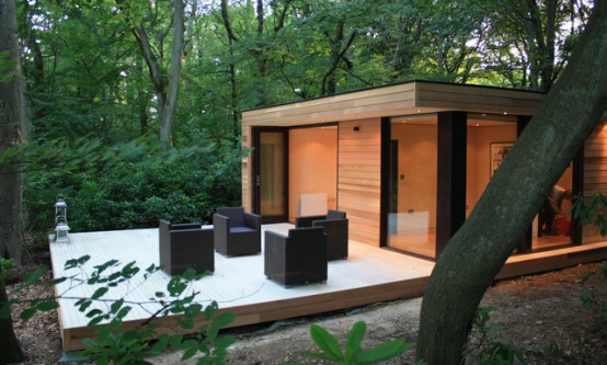 BELSO?P?T?SZ BLOG Modern Minimal Eco Garden Studio in London