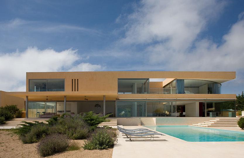 építész Belsőépítész Blog Luxory Minimalist Mediterranean Villa In