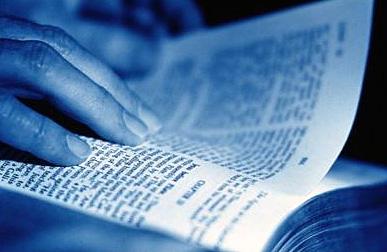 leer una biblia: