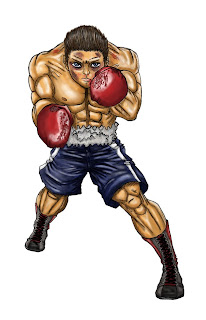 Boxeadores : Guerreros de Sangre