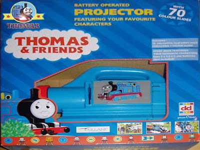 Thomas and friends electric battery operated movie projector