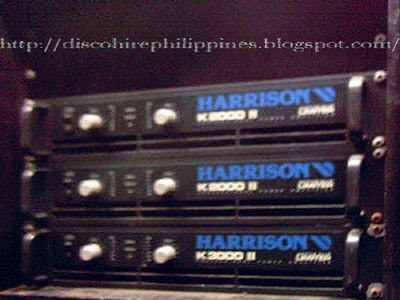 Pro Harrison K2000 and k3000 amp rack head design.