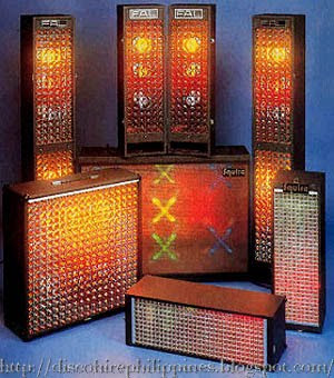 1970 Mobile fal disco lights made by Futuristic Aids Ltd DJ Vintage Electronics