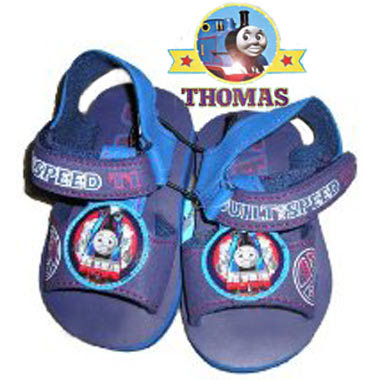 Sodor engine Friends and Thomas the train shoes really affordable designer seaside sandal for kids