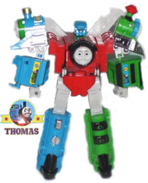 Masterpiece collection Transformer Thomas toy our favorite loved railroad hero a super robot model
