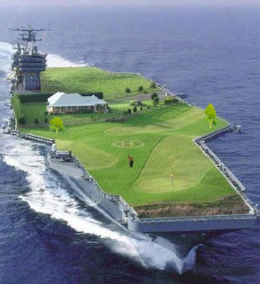 golfwar ship dont lose your ballin the deep blue sea