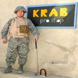 Taking a break from everyday activities golf tourneys in Iraq
