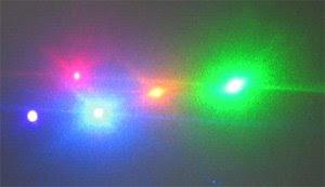 Led laser photo