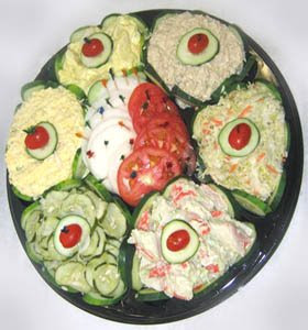 Party food ideas for a salad