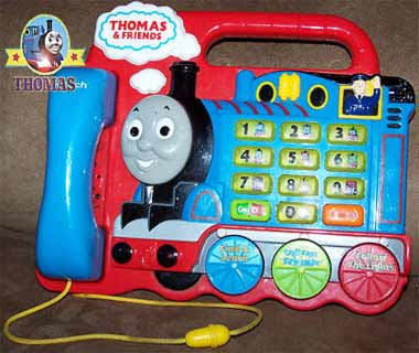Toy Vtech Thomas and Friends Interactive Play Phone game for whiz kid boy's educational learning