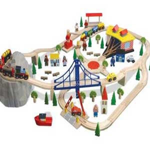 Toby Thomas the tank engine brio roundhouse pic