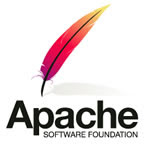 The Apache HTTP Server Project logo a colored fether