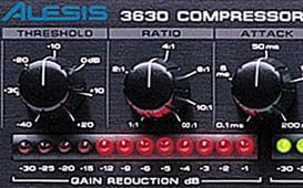 compressor turns the gain by about -6 pic