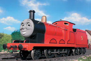 The really splendid tank engine James train photo