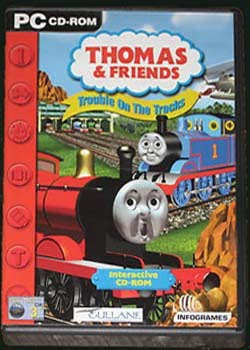 PC CD-ROM THOMAS TANK & FRIENDS TROUBLE ON THE TRACKS