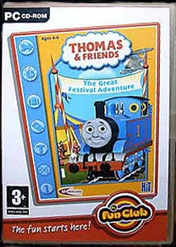 Thomas the Tank Engine - The Great Festival Adventure PC game CD-ROM