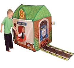 Thomas pop up tent and traintrack