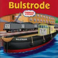 Bulstrode the barge at the Sodor Brendam dock side