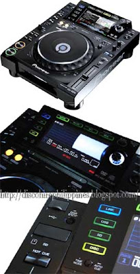 Stereo dj selection pioneer cdj 2000 turntable