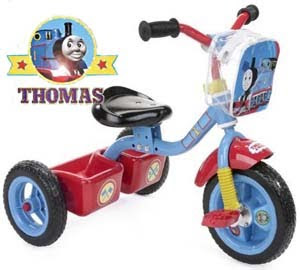 Thomas the tank trike huffy 3 wheels ride on toy