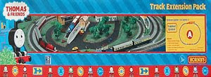 Thomas tank train set by Hornby ho scale accessories track extension pack