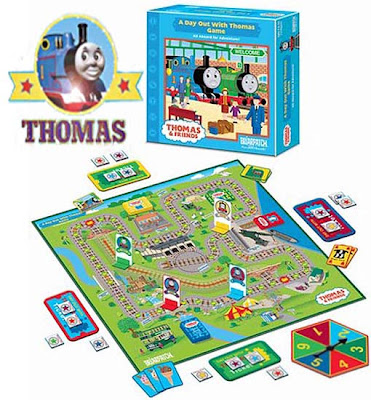 a Day out with Thomas Game Stations train set