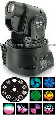 showtec micro spot led moving head stage lighting