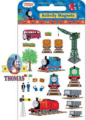 Thomas Magnet set for fridge magnets collection