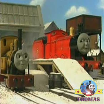 James and Duncan tank engine competition to be the fastest engine