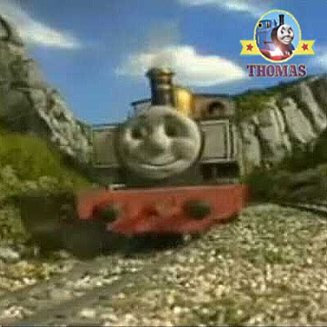 Train Freddie engine on the Island of Sodor Skarloey railways line