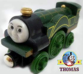 Locomotive Railway Thomas and Friends take along Beautiful emerald green train Emily the tank engine
