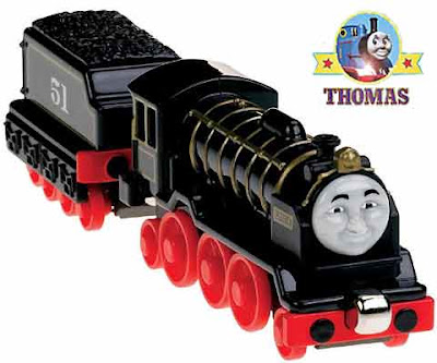 Kids educational toys learning curve take along Thomas train Hiro of the rails wooden play set