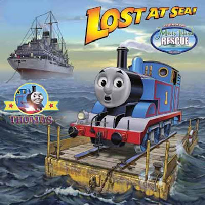 Juvenile fiction book Thomas the train misty island rescue on Sodor isle for Boys ages 3 to 6