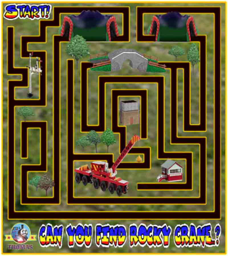 Play Games For Free : Printable unusual mazes trials ireland