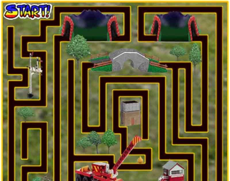 Preschool Maze Games For Children Play Free Online Thomas