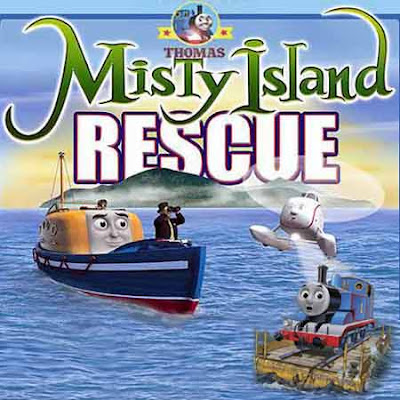 kids Lost at sea lifeboat Captain Thomas and friends misty island rescue jigsaw puzzle games online