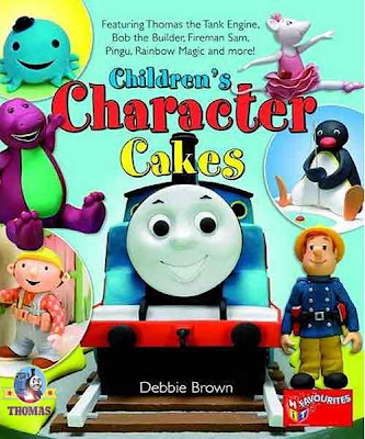 Childrens Character Cake idea design book with Thomas the Tank Engine and friend junior train party