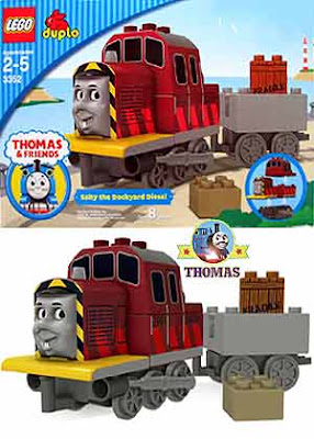 Thomas and friends Salty the dockyard diesel Duplo Lego train set essential learning building fun