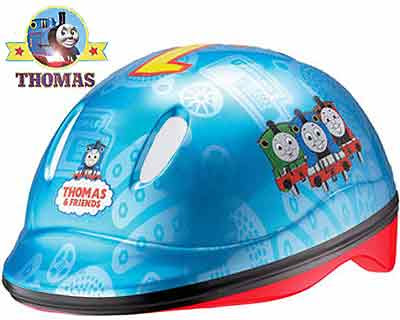 Thomas the tank engine hat safety helmet for children cycle peddling activities and bike riding fun